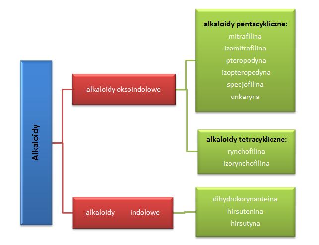 Alkaloidy w vilcacorze